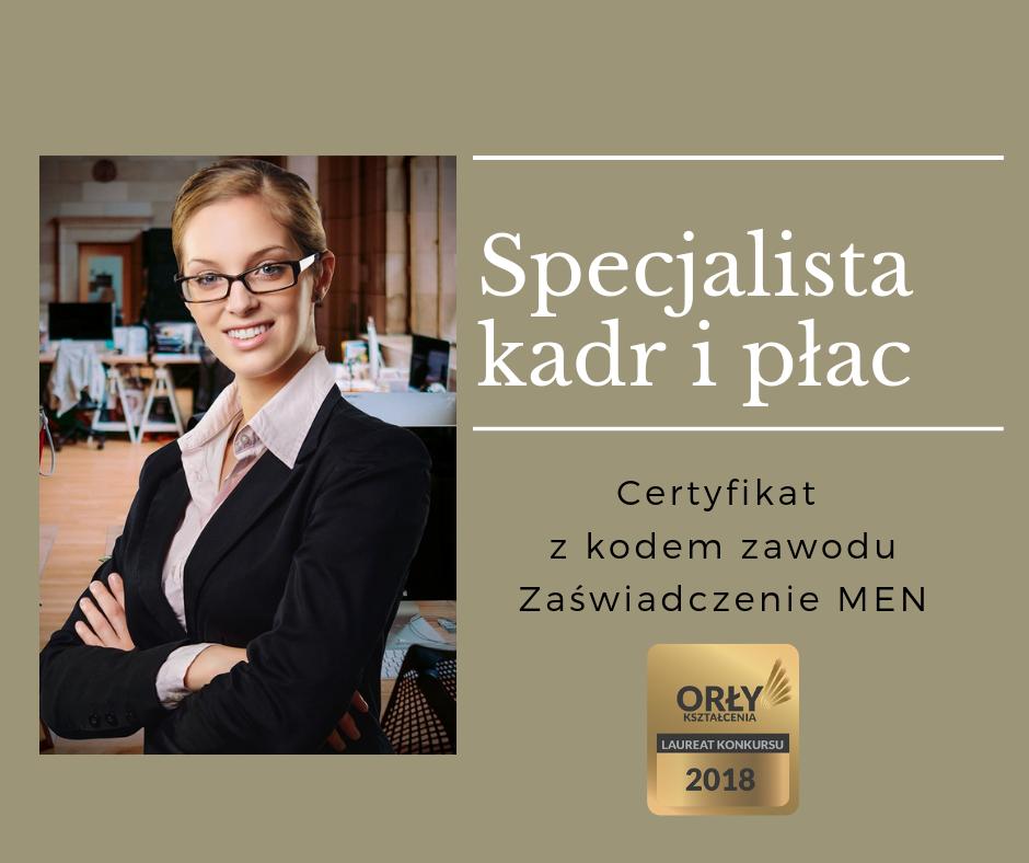Specjalista kadr i płac